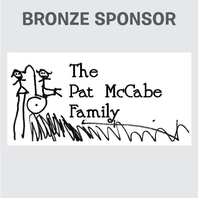 Bronze Sponsor - McCabe Family