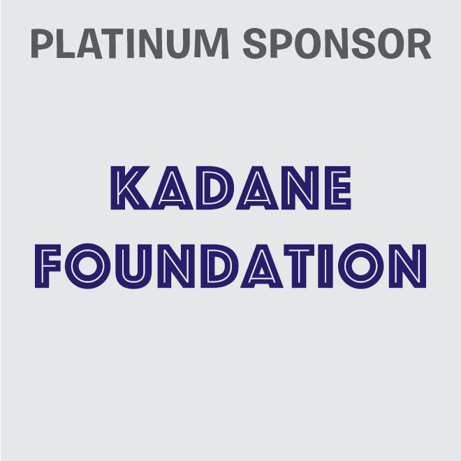 Platinum Sponsor - Kadane Foundation